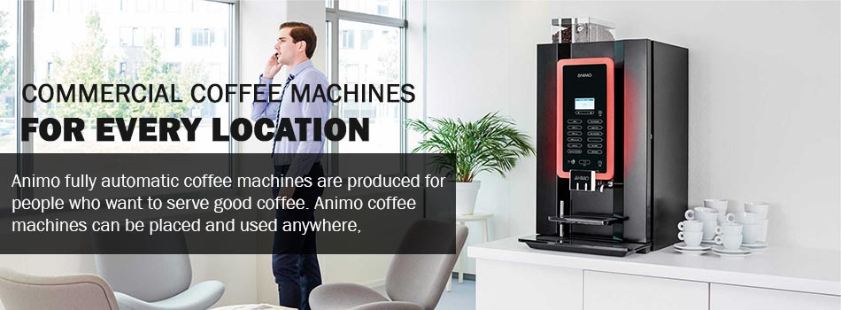 Animo - Commercial Automatic Coffee Machine | The Coffee Scent